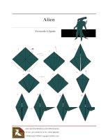 Cách xếp người ngoài hành tinh bằng giấy doc