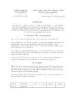 Quyết định số 03/2012/QĐ-UBND doc