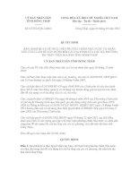 Quyết định số 02/2012/QĐ-UBND docx
