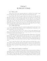 Chương 11: DI TRUYỀN TẾ BÀO docx