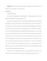 Đề bài: Em hãy viết thư thăm hỏi cô giáo cũ và nhắc lại một vài kỉ niệm về sự chăm sóc của cô giáo đối với em và các bạn. potx