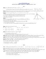 25 đề thi môn toán lớp 8