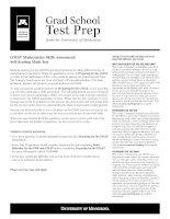 Test prep gmat math test