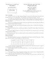 đề và đáp án thi học sinh giỏi môn sinh sở thanh hóa năm 2011