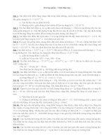 500 câu hỏi trắc nghiệm vật lý  lớp 11