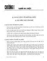 bài tập hình học lớp 12 chương trình chuẩn