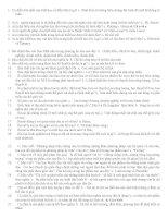 866 Câu hỏi và trả lời môn triết học