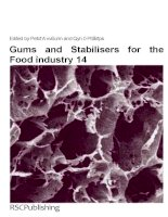 Gums and stabilisers for the food industry 14 (special publications) royal society of chemistry (2008)