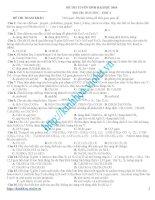 tuyển tập 100 đề thi thử đại học môn vật lý