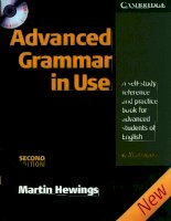 Advanced grammar in use second edition by martin hewings