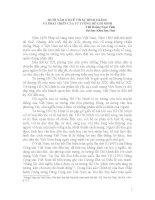MƯỜI NĂM Ở HUẾ VỚI SỰ HÌNH THÀNH  VÀ PHÁT TRIỂN CỦA TƯ TƯỞNG HỒ CHÍ MINH