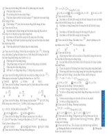 bài tập trắc nghiệm điện vật lý hạt nhân có đáp án