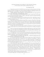 GÓP PHẦN TÌM HIỂU QUAN NIỆM CỦA CHỦ TỊCH HỒ CHÍ MINH VỀ XÂY DỰNG CHỦ NGHĨA XÃ HỘI Ở VIỆT NAM