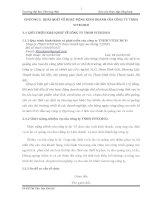 báo cáo thực tập  hoạt động kinh doanh của công ty tnhh vitechco