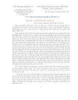 Hướng dẫn ôn thi TN THPT Ngữ văn 2014