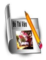 Đề thi học sinh giỏi ngữ văn mới 2014