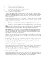 Phương pháp để có bài thuyết trình hiệu quả