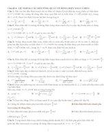 Bài tập dòng điện xoay chiều