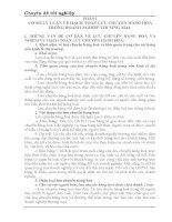 MỘT số ý KIẾN góp PHẦN HOÀN THIỆN CÔNG tác HẠCH TOÁN lưu CHUYỂN HÀNG HOÁ tại xí NGHIỆP dầu KHÍ đà NẴNG
