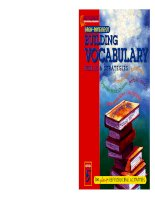 Building Vocabulary Skills and Strategies Level 8 : High-Interest Building Vocabulary Skills & Strategies potx