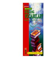 Building Vocabulary Skills and Strategies Level 3 docx