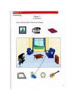 Sách Tiếng Anh cho trẻ em  Starters 3 SB