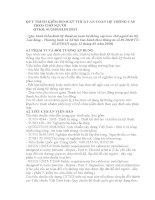 QUY TRÌNH KIỂM ĐỊNH kỹ THUẬT AN TOÀN hệ THỐNG cáp TREO CHỞ NGƯỜI