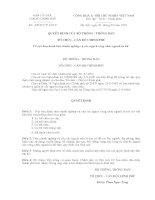 Tiêu chuẩn nghiệp vụ công chức viên chức ngành Văn thư lưu trữ