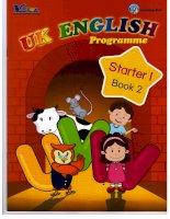 Giáo trình tiếng anh UK english starter 1 book 2