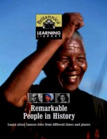 Britannica Discovery Library: Remarkable People in History docx