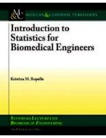 Introduction to Statistics for Biomedical Engineers doc