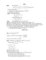 18 đề toán luyện thi vào lớp 10 pot