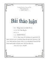 thực trạng chi ngân sách nhà nước Việt Nam hiện nay pot
