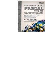 Lý thuyết và bài tập Pascal nâng cao ppt