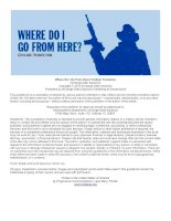 Where Do I Go From Here? Civilian Transition InCharge Debt Solutions Copyright © 2012 InCharge Debt potx
