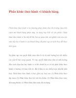 Phân khúc theo hành vi khách hàng. pdf