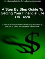 Getting Your Financial Life on track potx