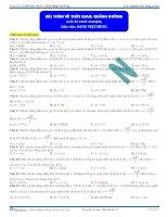 Bài toán về thời gian, quãng đường ( đáp án trắc nghiệm ) - Đặng Việt Hùng pot