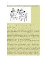 Các thuyết ảnh hưởng đến công tác xã hội nhóm docx