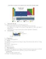 Chương 2 : bảng tuần hoàn các nguyên tố hóa học doc