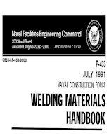 Welding Material Handbook doc