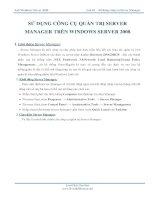 LAB 3 công cụ quản trị server manager