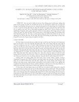 Báo cáo khoa học: Nghiên cứu áp dụng mô hình Wasp mô phỏng chất lượng nước hồ Dầu Tiếng potx