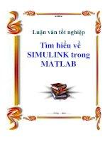 luận văn tốt nghiệp  tìm hiểu về simulink trong matlab