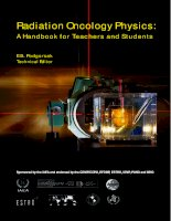 Radiation Oncology Physics: A Handbook for Teachers and Students potx