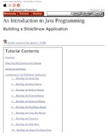 Intro to Java Programming - Tutorial Table of ContentsTechnical pptx