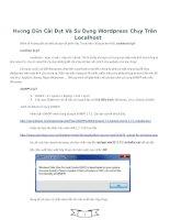 Hướng Dẫn Cài Đặt Và Sử Dụng Wordpress Chạy Trên Localhost ppt