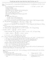 Tuyển tập các bài toán hình học lớp 9 ôn thi vao 10 doc