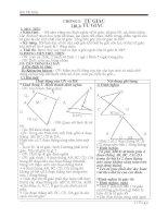 Giáo án hình học 8 - kỳ 1