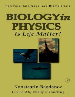Biology in Physics Is Life Matter? pptx